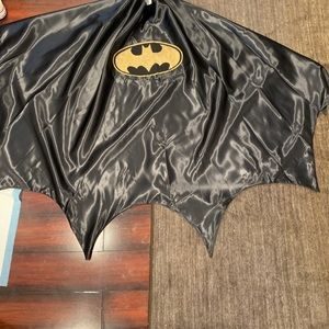 Mans Batman cape